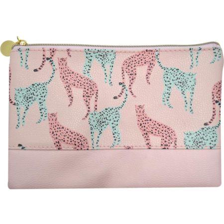 Cartuchera Pink Leopard ID10466