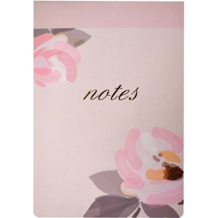 Block de Notas Pink Flower