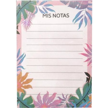 Notepad A6 Tropical Dream