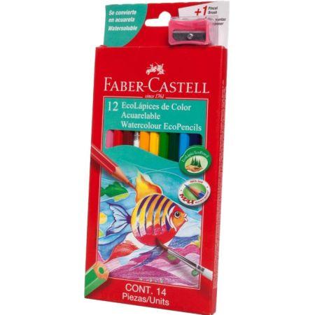 Colores Triangulares Acuarelables Caja x 12 Unidades