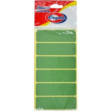 Etiquetas 23.5 x 76 mm Verde