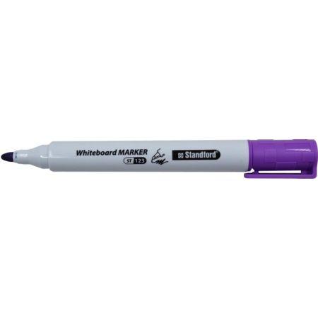 Plumón para Pizarra Whiteboard Marker 123 Lila Blister x 1 Unidad