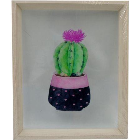 Cuadro Impresión 25 x 30 cm Cactus PA-4550
