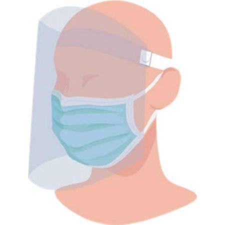 Protector Facial de Plástico M Mediano x 1 Unidad