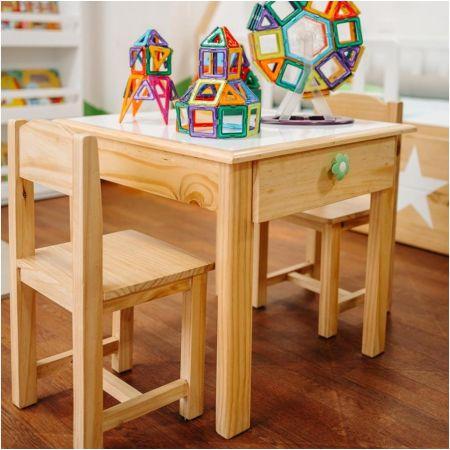Mesa de Arte + 2 Sillas + Cajón