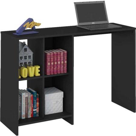 Mueble de Escritorio de Melamine Negro Moon
