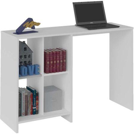 Mueble de Escritorio de Melamine Blanco  Grethel