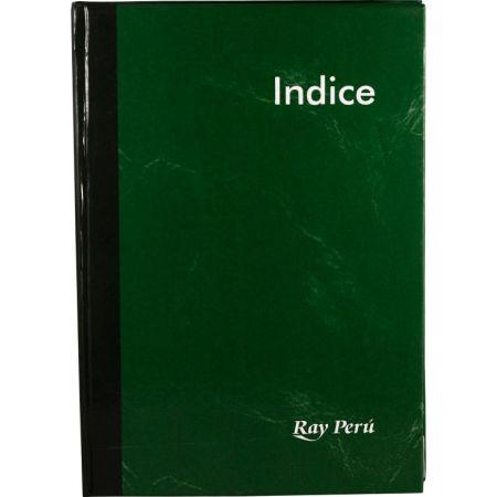 Cuaderno Empastado de Índice A5 x 200 Hojas