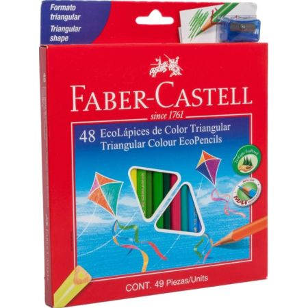 Colores Triangulares Caja x 48 Unidades