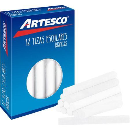 Tiza Antialérgica Blanca Caja x 12 Unidades