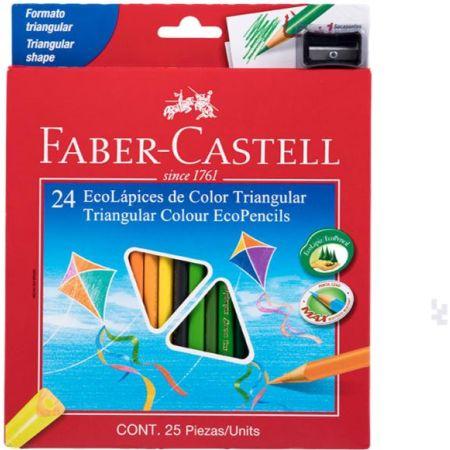 Colores Triangulares Caja x 24 Unidades