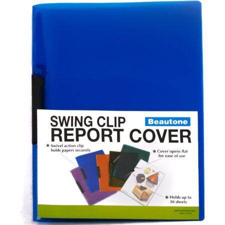 Folder Swing Clip x 30 Hojas A4 Azul