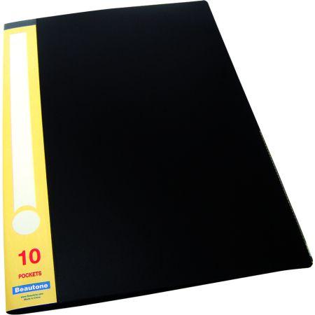 Catálogo A4 x 10 Hojas Negro