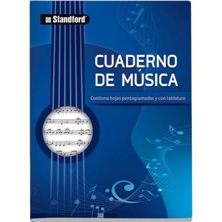 Cuaderno de Música A4 x 48 Hojas