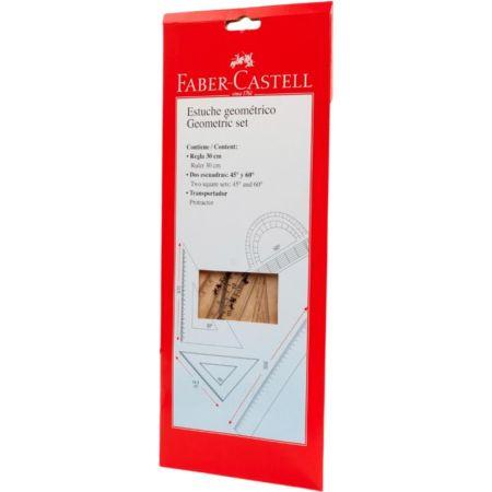 Estuche Geométrico 30 cm Faber Castell