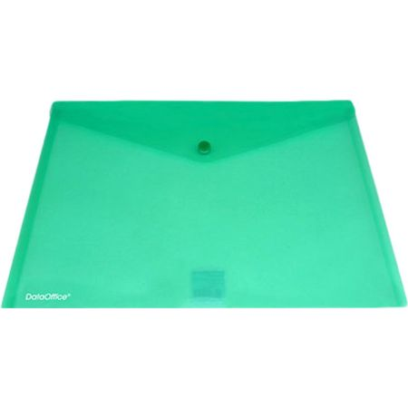 Sobre Porta Documentos Oficio Verde con Broche