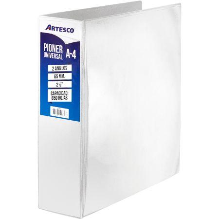 Pioner Universal A4 65mm 2 Anillos Blanco