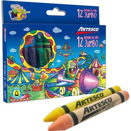 Crayones Jumbo Caja x 12 Colores