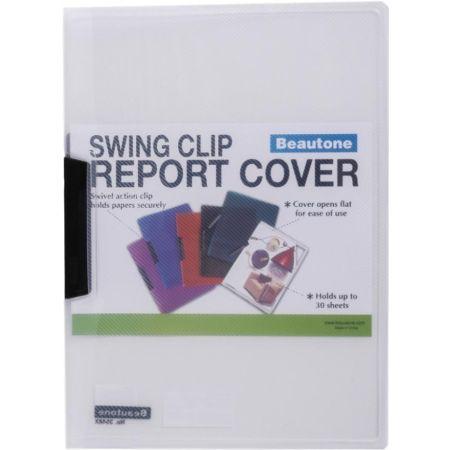 Folder Swing Clip x 30 Hojas A4 Tranparente