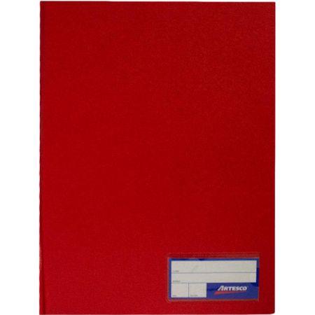 Folder Doble Tapa con Gusanillo Oficio Rojo