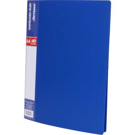 Catálogo A4 para 20 Hojas Azul x 1 Unidad