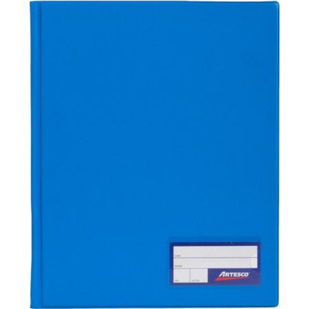 Folder Doble Tapa con Gusanillo A4 Turquesa