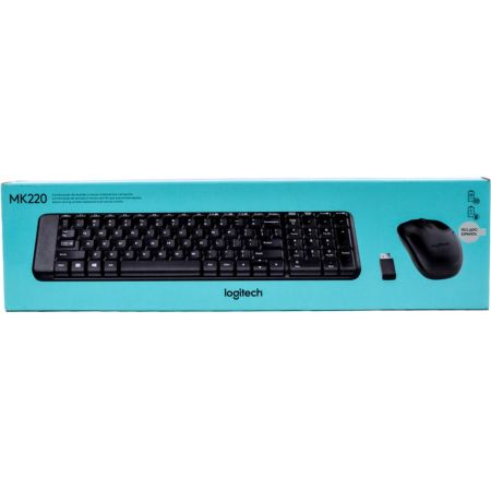 Set Teclado + Mouse Inalámbrico MK220