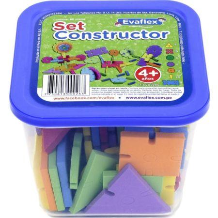 Juego de Construcción Set Constructor Taper x 60 Piezas