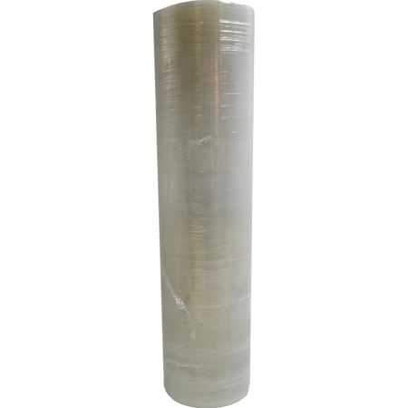 Stretch Film Transparente 18 pulgadas x 20 micras en Tubo