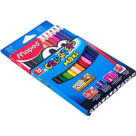 Colores Triangulares Color Peps Maxi Jumbo Caja x 12 Unidades