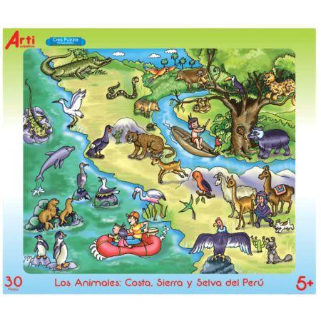 Rompecabezas Los Animales x 30 Piezas