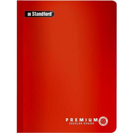 Cuaderno Premium Escolar Rayado A4 Cosido x 92 Hojas