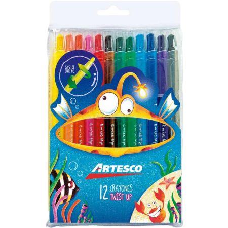 Crayones Twist Up x 12 Unidades