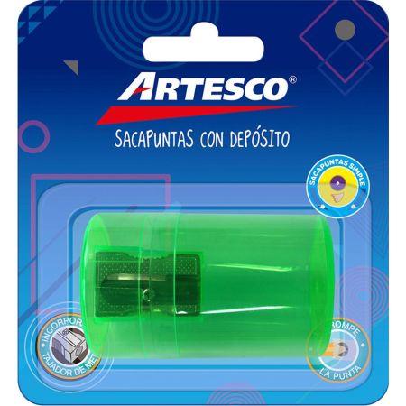 Tajador de Metal con Depósito Blister x 1 Unidad