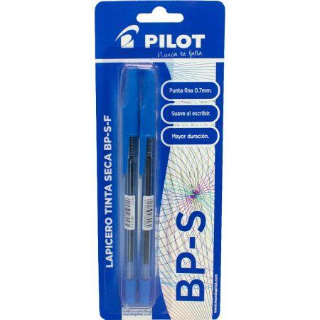 Lapicero BP-S Azul Blister x 2 Unidades