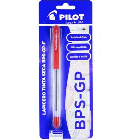 Lapicero BPS-GP Rojo Blister x 1 Unidad
