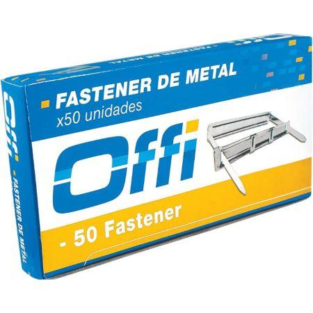 Fastener Metálico Caja x 50 Unidades Offi