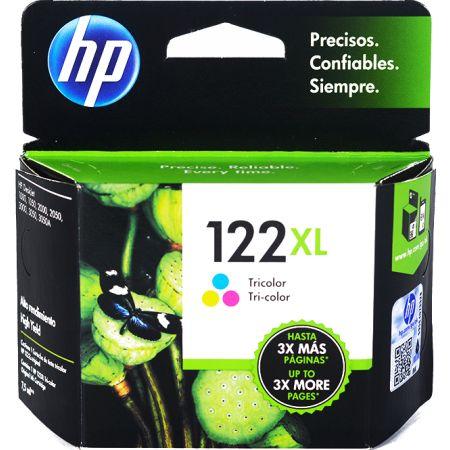 Tinta para Impresora en Cartucho 122 XL Tricolor