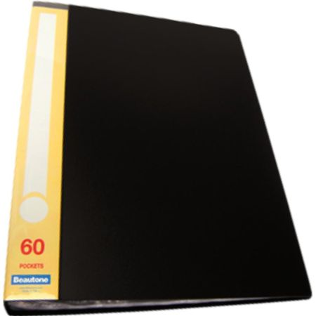 Catálogo A4 para 60 Hojas Negro x 1 Unidad