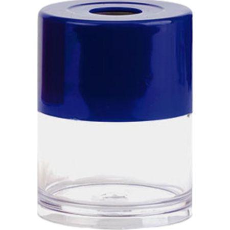 Portaclips Redondo de Plástico Azul