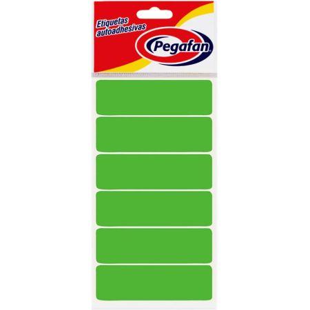 Etiquetas 25 x 19 mm Fluorescente Verde