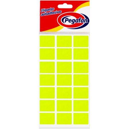 Etiquetas 25 x 19 mm Fluorescente Amarillo
