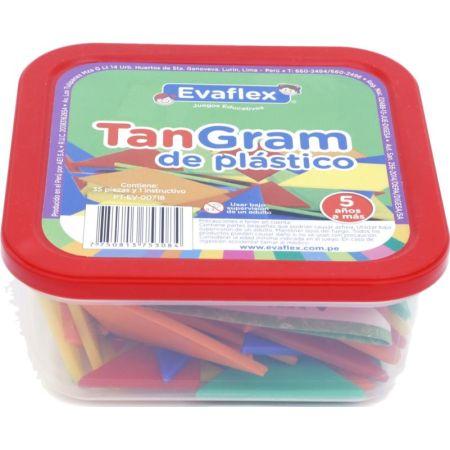 Tangram de Plástico x 35 Piezas