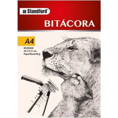 Block Bitácora A4 90 g x 90 Hojas