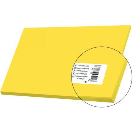 Cartulina Sirio Amarillo 50cm x 65cm 170 gr x 1 Pliego Sadipal