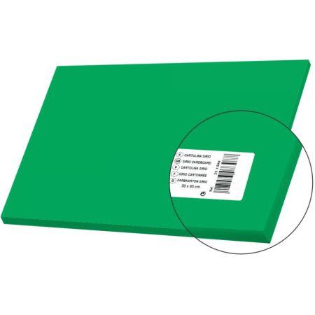 Cartulina Sirio Verde Intenso 50cm x 65cm 170 gr x 1 Pliego Sadipal