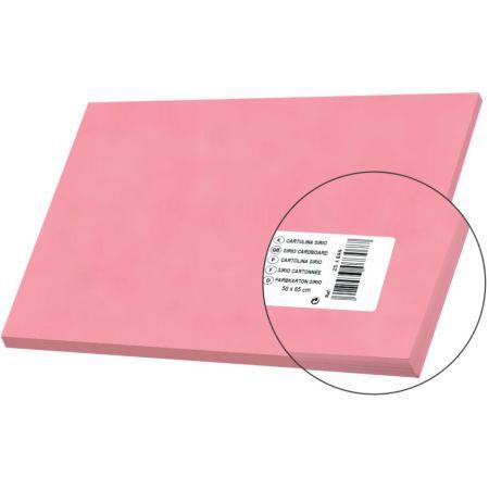 Cartulina Sirio Rosa 50cm x 65cm 170gm x 1 Pliego