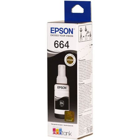 Tinta para Impresora en Botella 664 Black