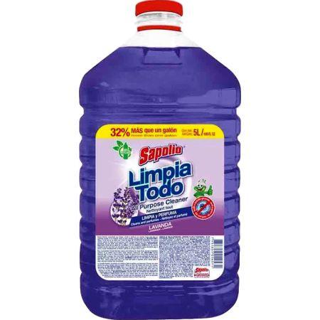 Limpiatodo Antibacterial Floral Botella x 5 L