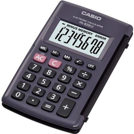 Calculadora de Bolsillo HL - 820LV 8 Dígitos